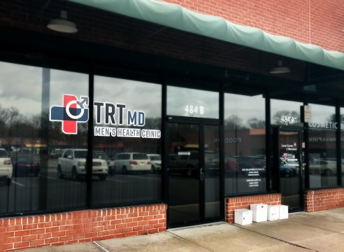 TRTMD men's health clinic storefront