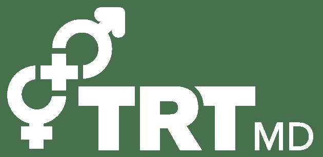 TRT logo white